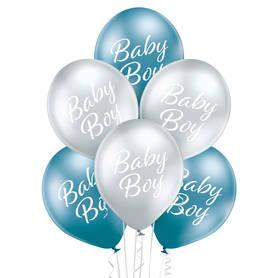 Balony na baby shower lub narodziny chłopca